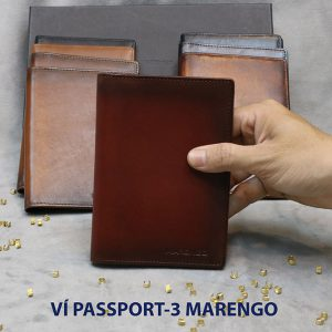 Ví đựng Passport hộ chiếu ATM Card Marengo-3 0011