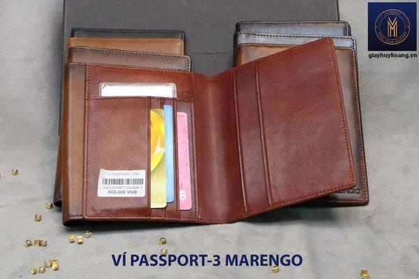 Ví đựng Passport hộ chiếu ATM Card Marengo-3 008