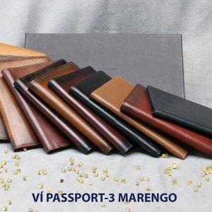 Ví đựng Passport hộ chiếu ATM Card Marengo-3 001