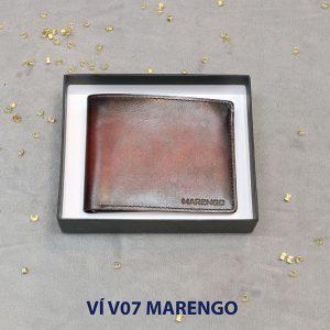 Bóp Ví nam da bò V07 Marengo 001