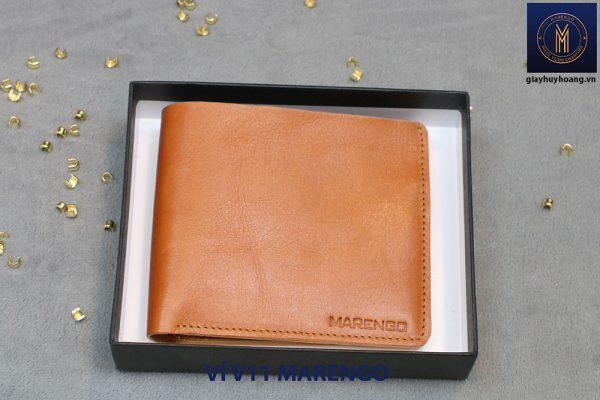 Bóp Ví da bò nam cao cấp V11 Marengo 001