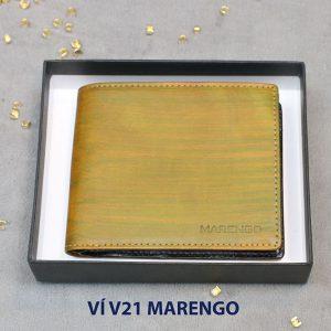 Bóp Ví ngang da bò nam V21 Marengo 001
