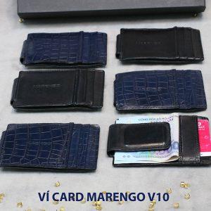 Ví kẹp tiền đựng danh thiếp ATM Marengo V10 004