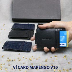 Ví kẹp tiền đựng danh thiếp ATM Marengo V10 001