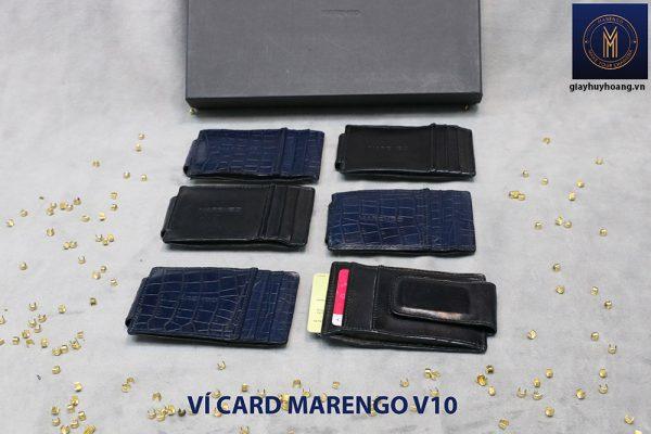 Ví kẹp tiền đựng danh thiếp ATM Marengo V10 003
