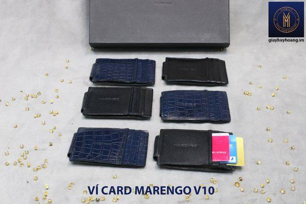 Ví kẹp tiền đựng danh thiếp ATM Marengo V10 002