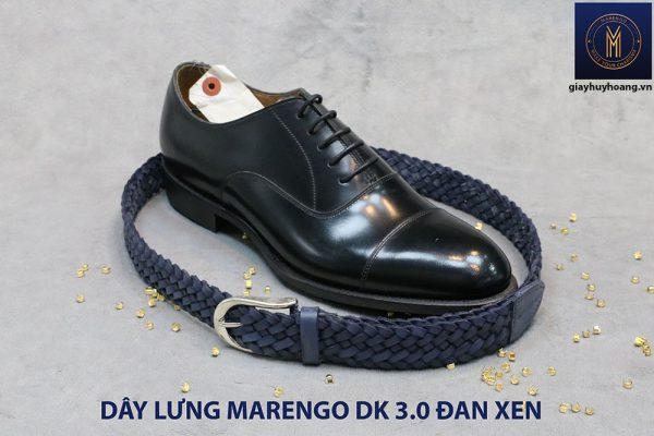 Dây nịt thắt lưng nam da đan xen Marengo 3-3.5cm 007