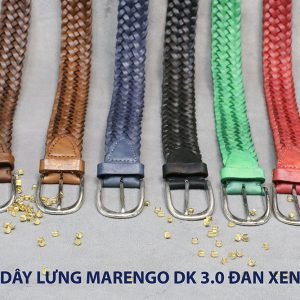 Dây nịt thắt lưng nam da đan xen Marengo 3-3.5cm 003