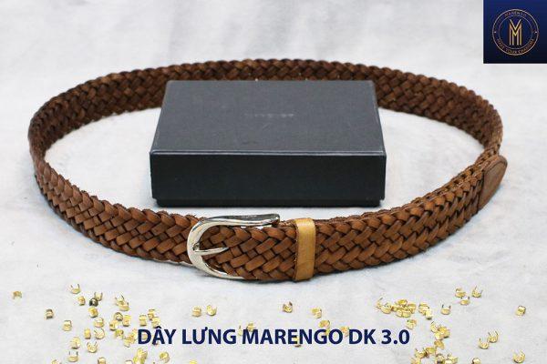 Dây nịt thắt lưng nam da đan xen Marengo 3-3.5cm 002