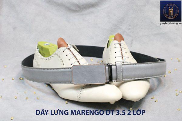 bán dây nịt thắt lưng nam 2 lớp da bò cao cấp Marengo 0013