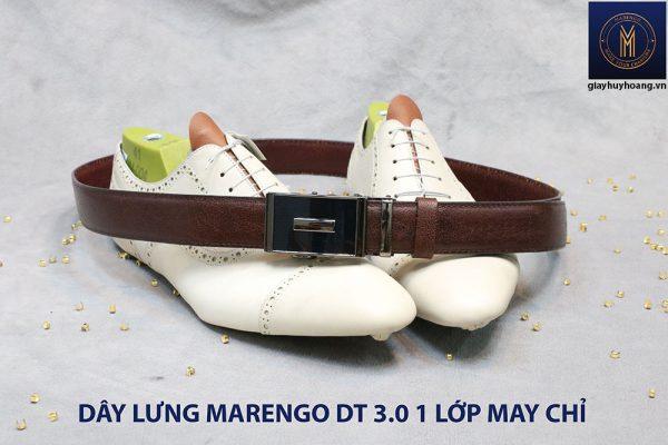 Dây nịt nam đầu tăng Marengo 1 lớp da bò 0013