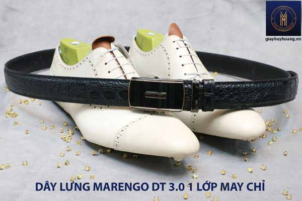 Dây nịt nam đầu tăng Marengo 1 lớp da bò 006