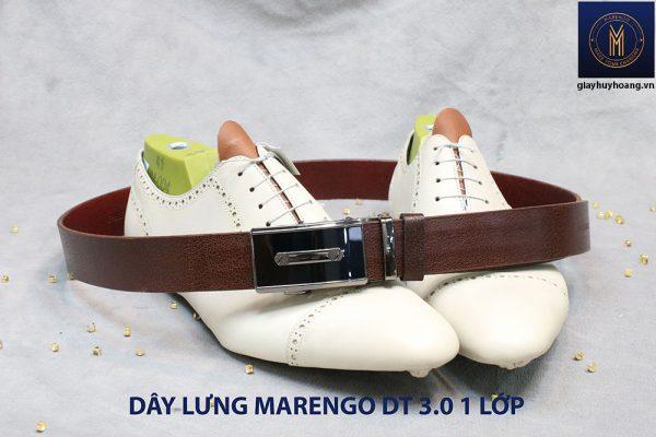 Dây nịt nam đầu tăng Marengo 1 lớp da bò 003