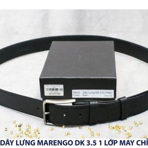 Dây nịt thắt lưng nam Marengo da bò 1 lớp 001