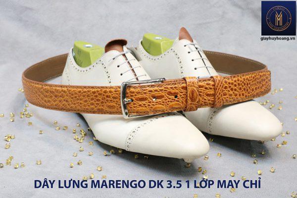 Dây nịt thắt lưng nam Marengo da bò 1 lớp 004