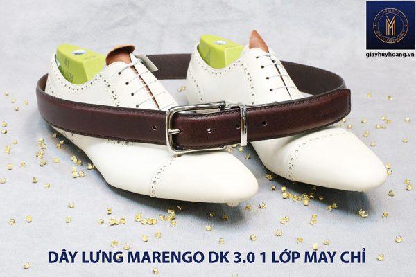 Dây nịt thắt lưng nam Marengo da bò 1 lớp 002