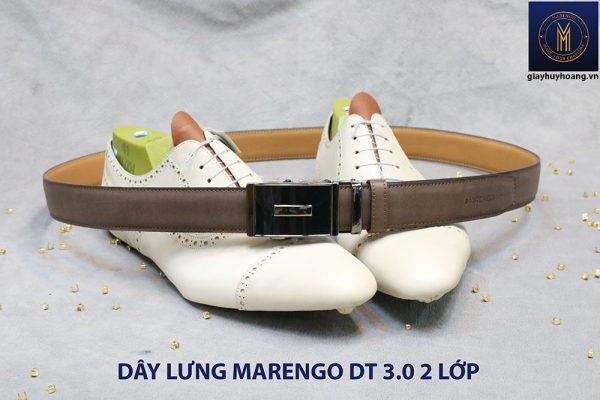 bán dây nịt thắt lưng nam 2 lớp da bò cao cấp Marengo 005
