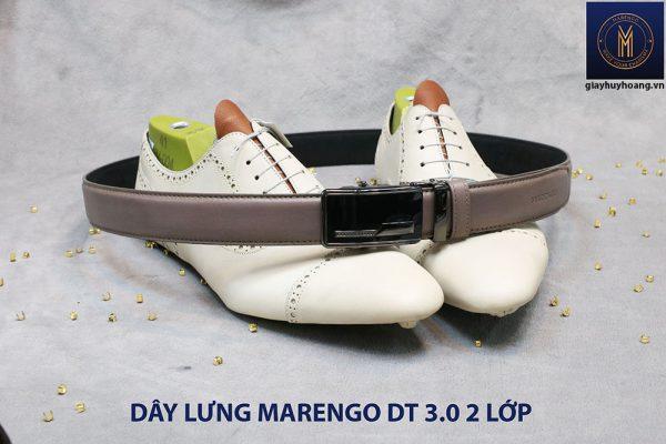 bán dây nịt thắt lưng nam 2 lớp da bò cao cấp Marengo 004