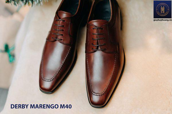 Giày tây da nam Derby Marengo M40 003