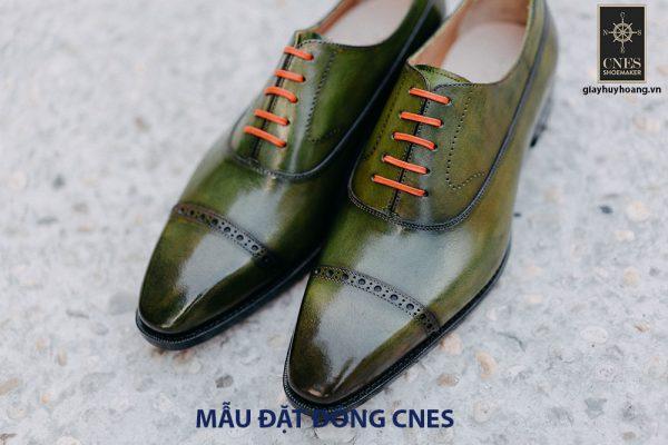 Giày tây nam mũi vuông Oxford CNES CNS143 001