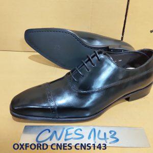 Giày tây nam mũi vuông Oxford CNES CNS143 004