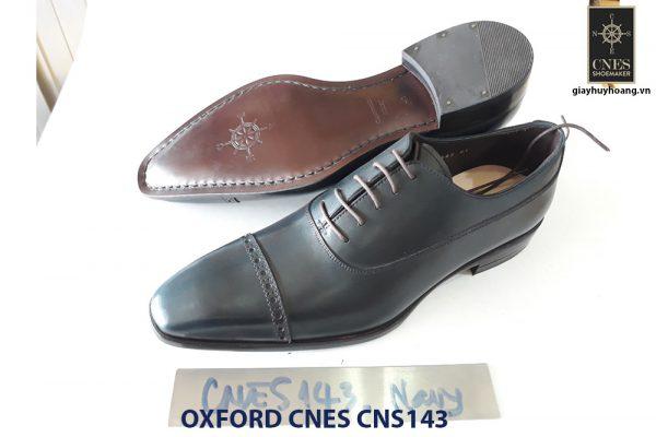 Giày tây nam mũi vuông Oxford CNES CNS143 003