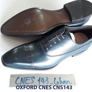 Giày tây nam mũi vuông Oxford CNES CNS143 002