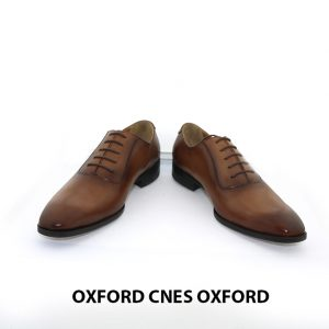 Giày da nam thật giá rẻ Oxford CNES Oxford 005