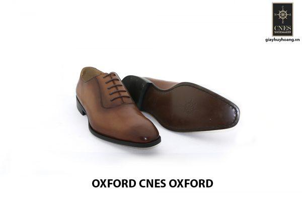 Giày da nam thật giá rẻ Oxford CNES Oxford 002