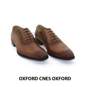 Giày da nam thật giá rẻ Oxford CNES Oxford 001