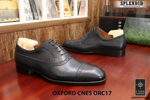 Giày tây cột dây nam Oxford CNES ORC17 size 43 004
