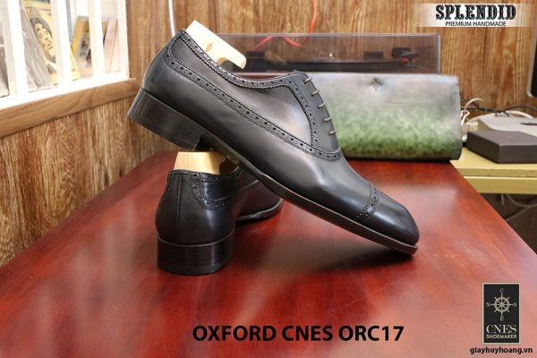 Giày tây cột dây nam Oxford CNES ORC17 size 43 003