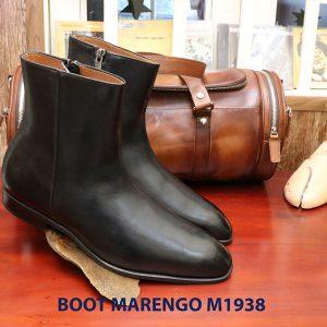 Giày tây da nam cổ cao Boot Marengo M1938 005