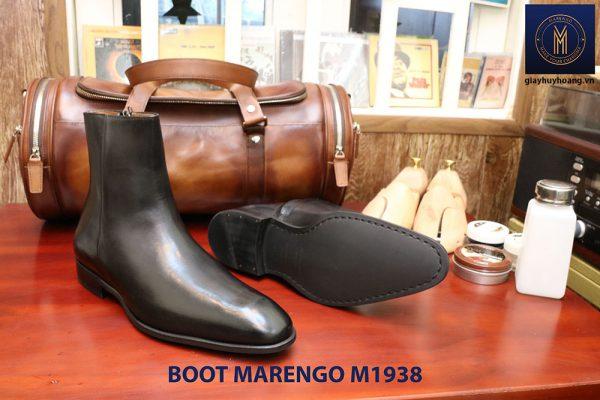 Giày tây da nam cổ cao Boot Marengo M1938 003