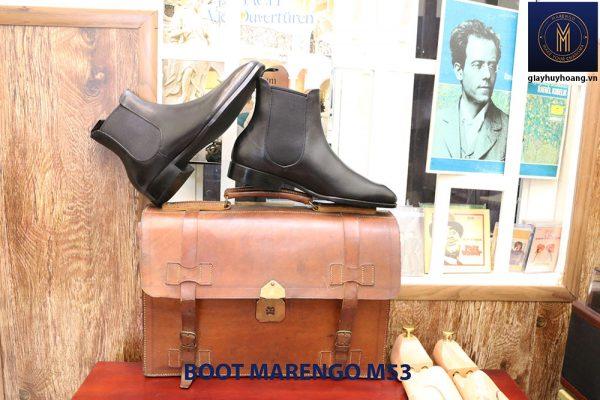 Giày da nam buộc dây Derby Marengo M51 003