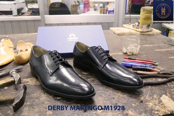 Giày tây nam cột dây Derby Marengo M1928 001