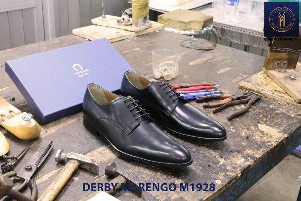 Giày tây nam cột dây Derby Marengo M1928 002