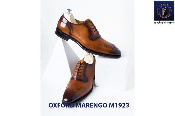Giày da bò nam Oxford Marengo M1923 004