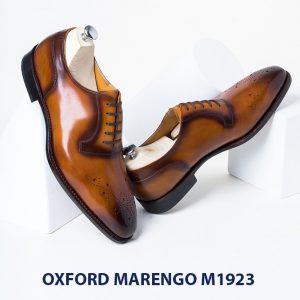 Giày da bò nam Oxford Marengo M1923 003