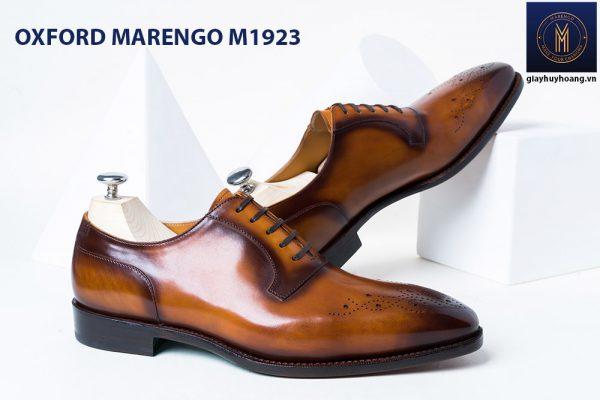 Giày da bò nam Oxford Marengo M1923 002