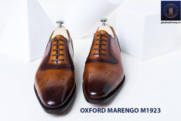 Giày da bò nam Oxford Marengo M1923 001