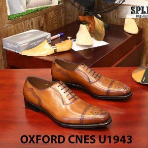 [Outlet] Giày da nam buộc dây Oxford CNES U1943 size 44 001