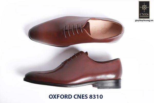 Giày da nam đế da Oxford CNES 8310 004