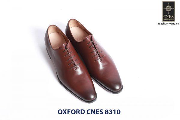 Giày da nam đế da Oxford CNES 8310 002