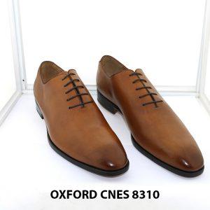 [Outlet] Giày da nam đế da Oxford CNES 8310 Size 47 005