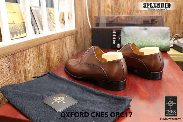 [Outlet] Giày da nam đẹp Oxford CNES ORC29 size 41 005