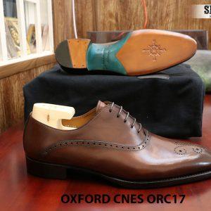 [Outlet] Giày da nam đẹp Oxford CNES ORC29 size 41 004