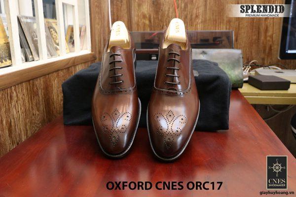 [Outlet] Giày da nam đẹp Oxford CNES ORC29 size 41 003