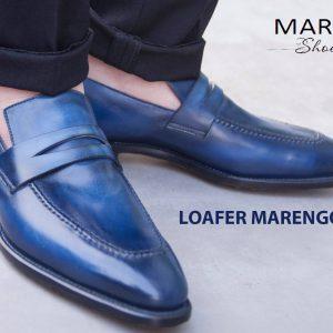 Giày lười loafer nam da bò marengo M1902 001
