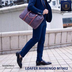 Giày lười loafer nam da bò marengo M1902 006